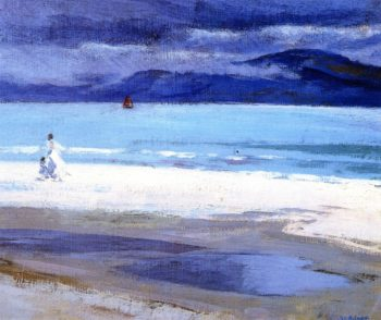 The North End Iona | Francis Campbell Bolleau | oil painting