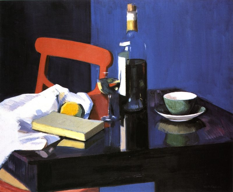 The Red Chair | Francis Campbell Bolleau | oil painting