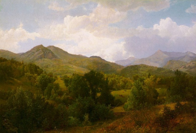 Adirondacks | William Trost Richards | oil painting