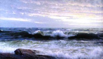 After a Stormy Day | William Trost Richards | oil painting