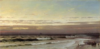 Along the Atlantic Coast | William Trost Richards | oil painting