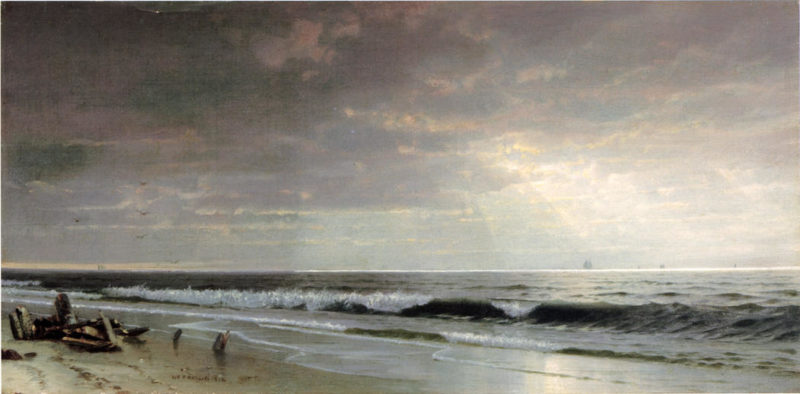 Along the Atlantic | William Trost Richards | oil painting