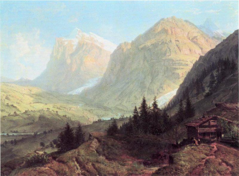 Alpine Landscape | William Trost Richards | oil painting