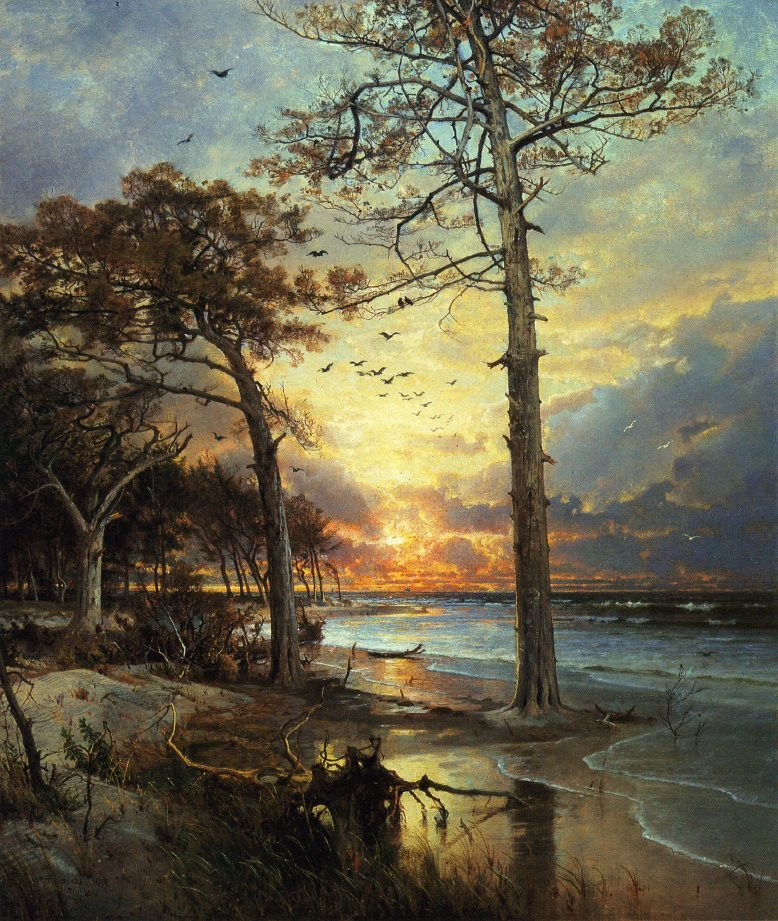 At Atlantic City | William Trost Richards | oil painting