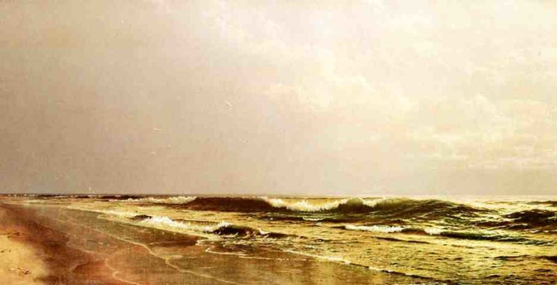 Atlantic Seascape | William Trost Richards | oil painting