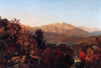 Autumn in the Adirondacks 1 | William Trost Richards | oil painting