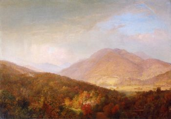 Autumn in the Adirondacks | William Trost Richards | oil painting