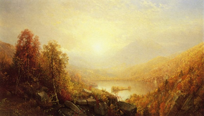Autumn in the Mountains   William Trost Richards   oil painting