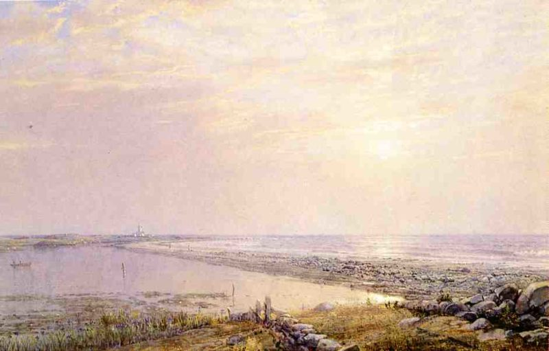 Beach Scene Late Afternoon | William Trost Richards | oil painting