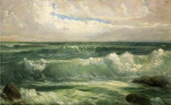 Breakers | William Trost Richards | oil painting