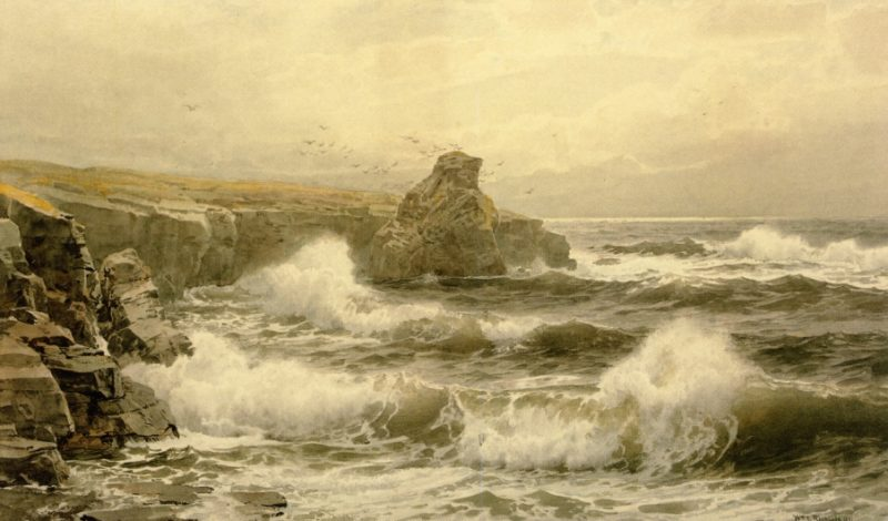 Breaking Water | William Trost Richards | oil painting