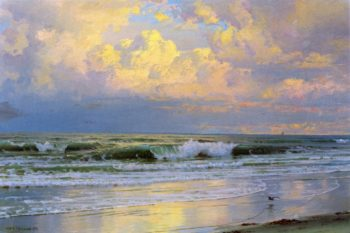 Breaking Waves 1 | William Trost Richards | oil painting