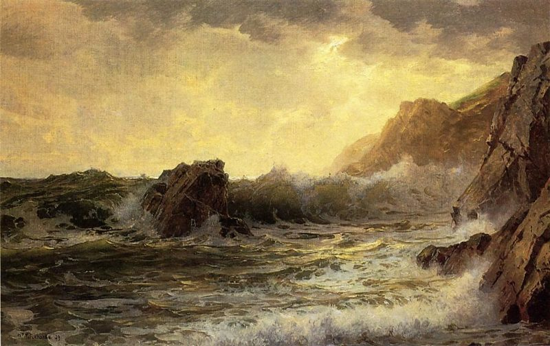 Breaking Waves | William Trost Richards | oil painting