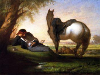 Civil War Scene | William Trost Richards | oil painting