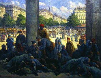 The Gare de l'Est   Maximilien Luce   oil painting