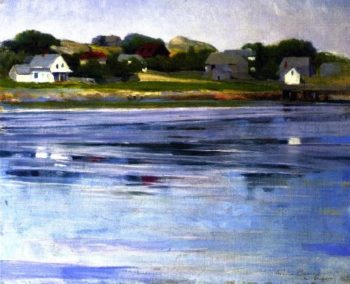 Half Tide Annisquam River | Cecilia Beaux | oil painting