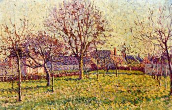 The Orchard at Eragny | Maximilien Luce | oil painting
