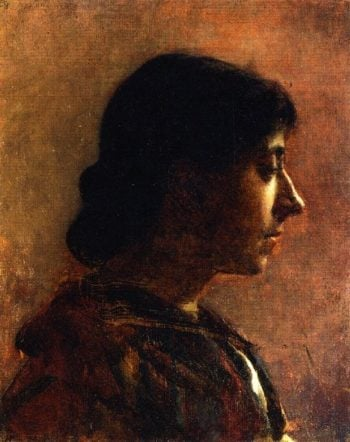 Head of a Woman | Cecilia Beaux | oil painting