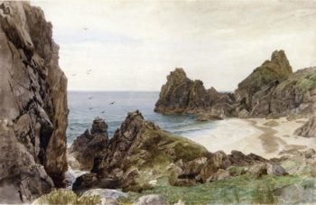 English Coastline | William Trost Richards | oil painting