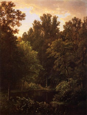 Forest Pool | William Trost Richards | oil painting