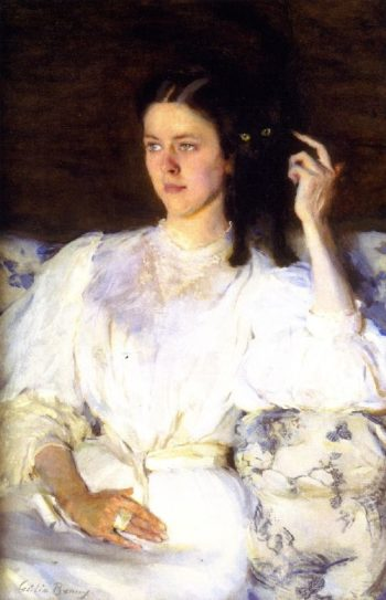 Sita and Sarita | Cecilia Beaux | oil painting