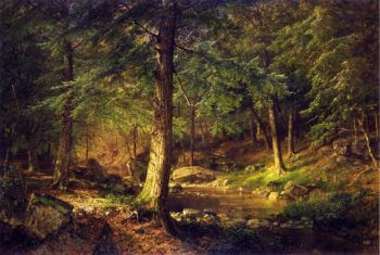 Forest Scene | William Trost Richards | oil painting
