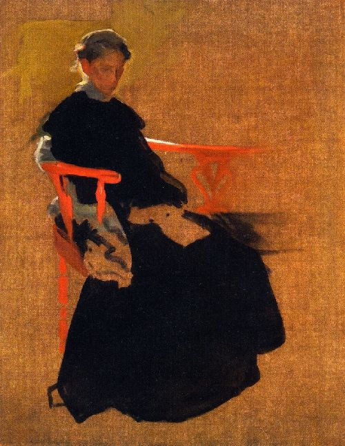 Aunt Eliza | Cecilia Beaux | oil painting