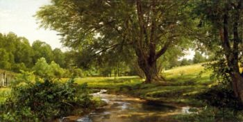 Glade at Oldmixon Chester County Pennsylvani | William Trost Richards | oil painting