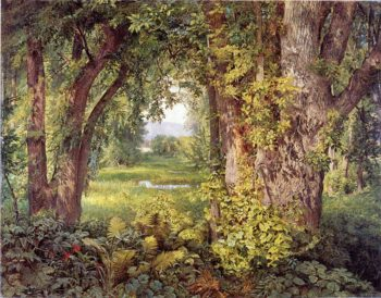 Into the Woods | William Trost Richards | oil painting