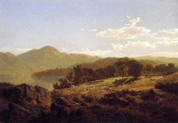 Lake George Opposite Caldwell | William Trost Richards | oil painting