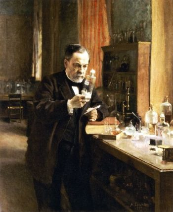 Louis Pasteur | Albert Edelfelt | oil painting