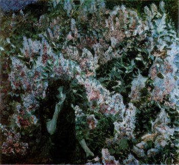 Lilac   Mikhail Vrubel   oil painting