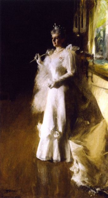 Mrs Potter Palmer | Anders Zorn | oil painting