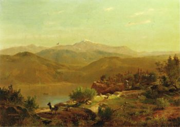 Landscape | William Trost Richards | oil painting