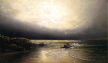 Lands End New Jersey Coast | William Trost Richards | oil painting