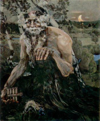 Pan   Mikhail Vrubel   oil painting