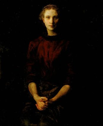 Portrait of a Lady | Abbott Handerson Thayer | oil painting