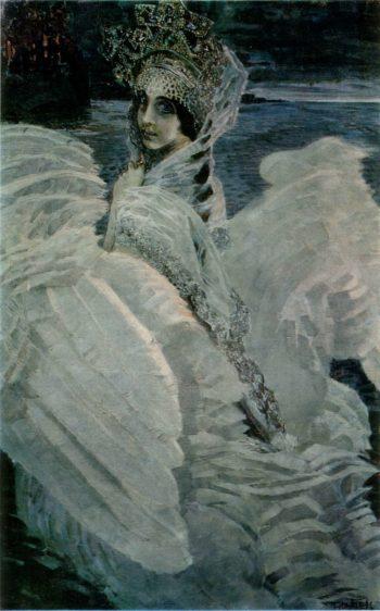 Swan Princess   Mikhail Vrubel   oil painting