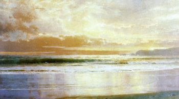 Marine | William Trost Richards | oil painting