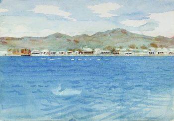 Azores | Abbott Handerson Thayer | oil painting