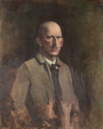 Self portrait | Abbott Handerson Thayer | oil painting