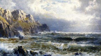 Moye Point Guernsey Channel Islands | William Trost Richards | oil painting
