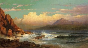 Mt Desert Maine | William Trost Richards | oil painting
