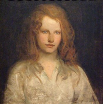 Margaret MacKittrick | Abbott Handerson Thayer | oil painting