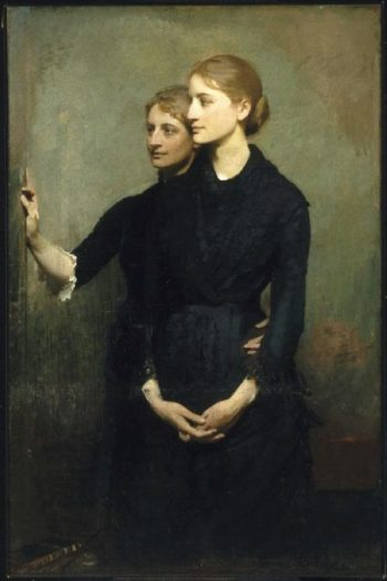 The Sisters | Abbott Handerson Thayer | oil painting