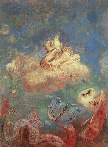 Apollo's Chariot | Odilon Redon | oil painting