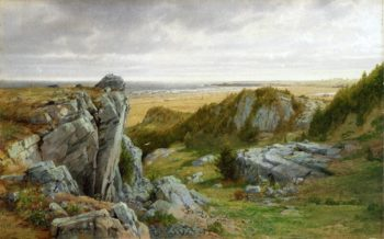 Near Parsdise Newport | William Trost Richards | oil painting