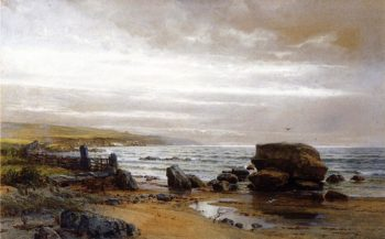 New England Coast | William Trost Richards | oil painting