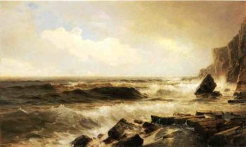 New England Seascape | William Trost Richards | oil painting