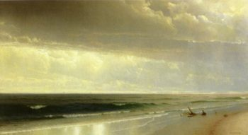 Newport Beach | William Trost Richards | oil painting